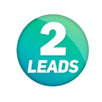 Логотип компании «2leads»