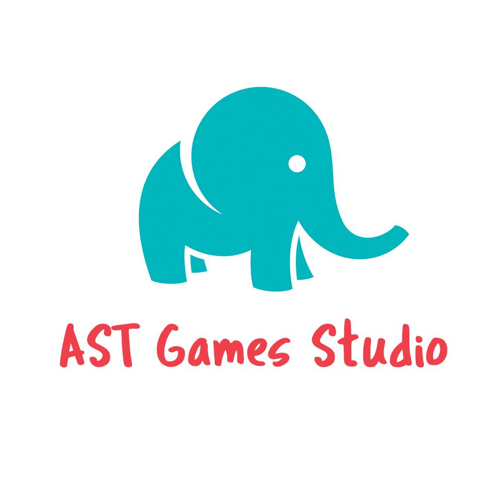 Логотип компании «AST Games studio»