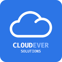 Логотип компании «CLOUDEVER SOLUTIONS»