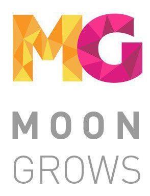 Логотип компании «MOONGROWS»