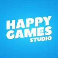 Логотип компании «HappyGames Studio»