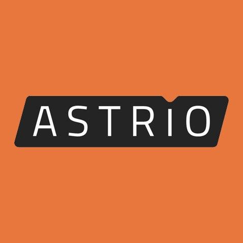 Логотип компании «ASTRIO agency»