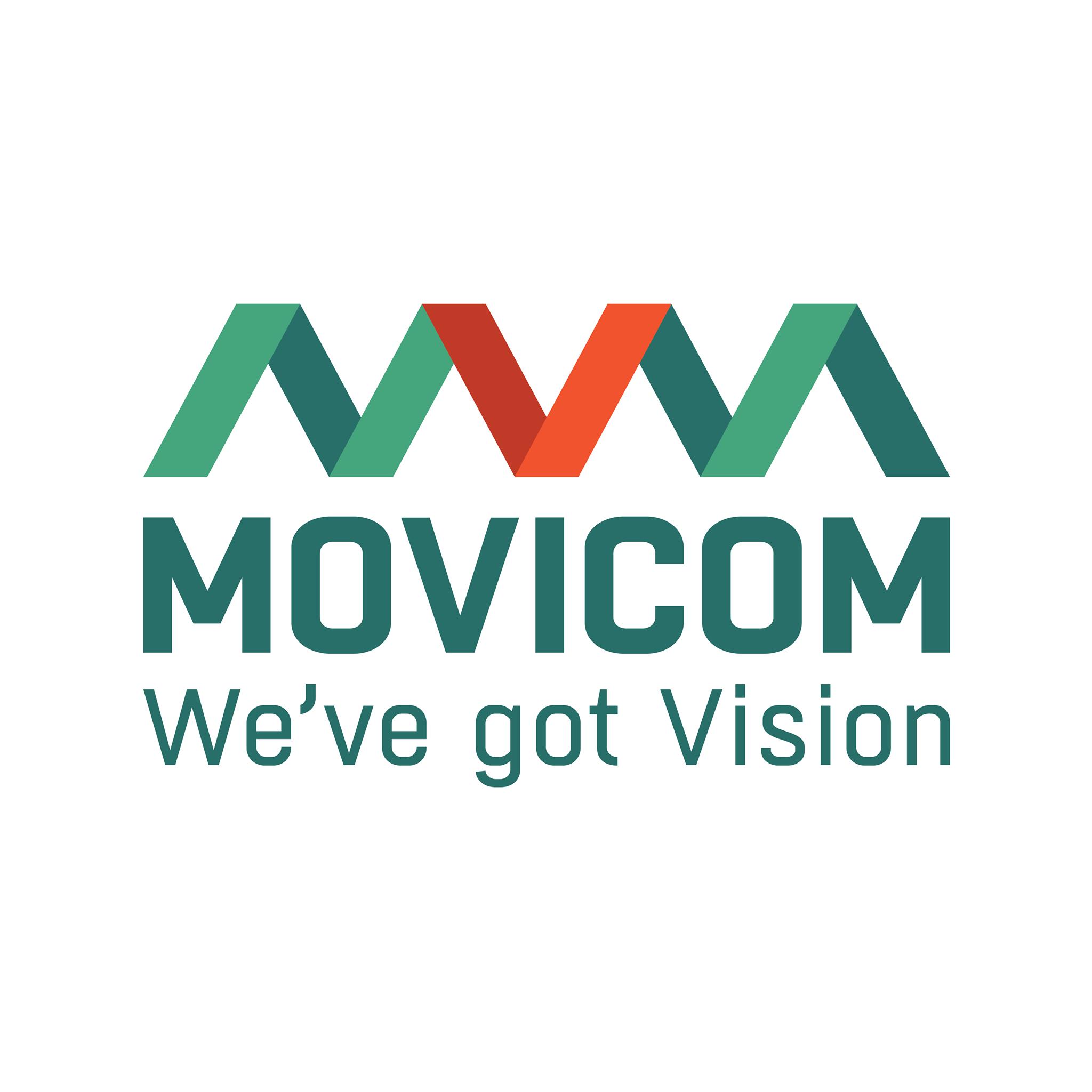 Логотип компании «Movicom»