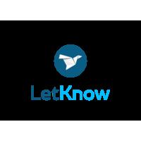Логотип компании «LetKnow»