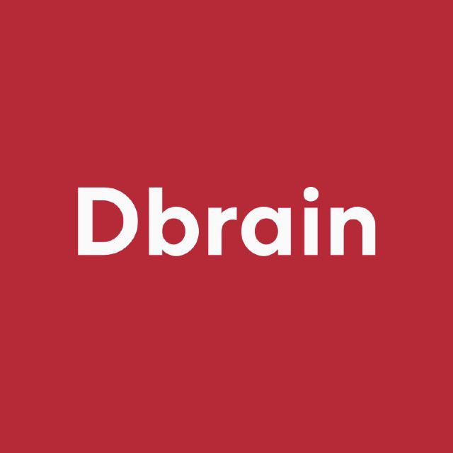 Логотип компании «Dbrain»