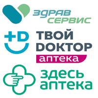 Логотип компании «Здравсервис (Твой Доктор, Здесь Аптека)»