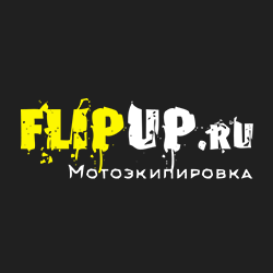 Логотип компании «FLIPUP.RU»