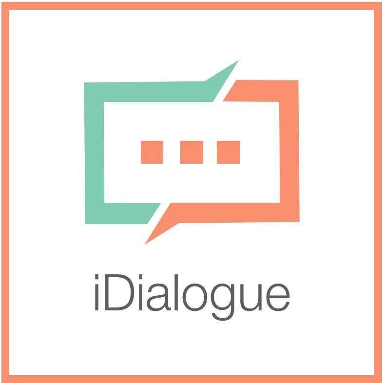 Логотип компании «iDialogue»