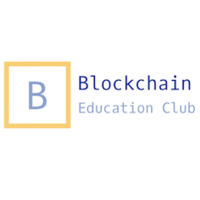 Логотип компании «Blockchain Education Club»