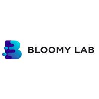 Логотип компании «Bloomy Lab»