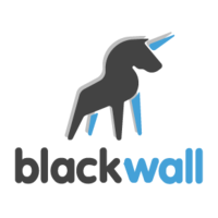 Логотип компании «Black Wall Group»