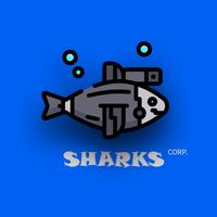 Логотип компании «Sharks.corp»