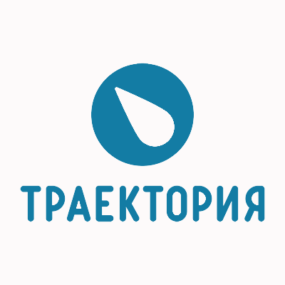 Логотип компании «Траектория»