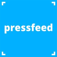 Логотип компании «Pressfeed»