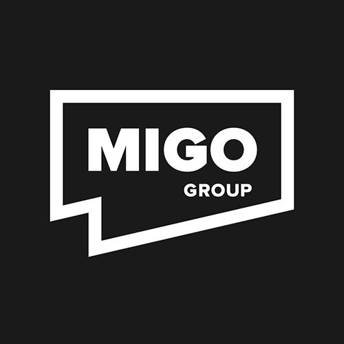 Логотип компании «MIGO GROUP»