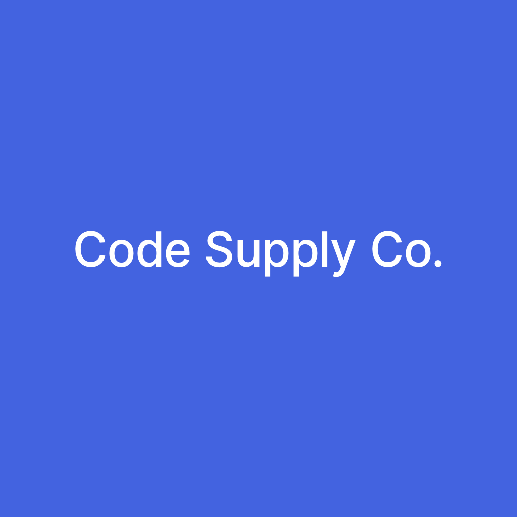 Логотип компании «Code Supply Co.»