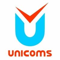 Логотип компании «ЮНИКОМС»