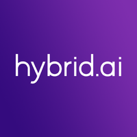 Логотип компании «Hybrid.ai»