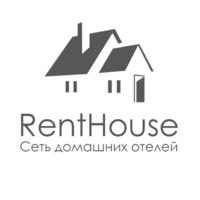 Логотип компании «RentHouse»
