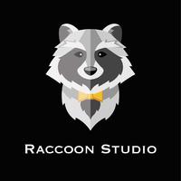 Логотип компании «Raccoon Studio»
