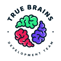 Логотип компании «True Brains»