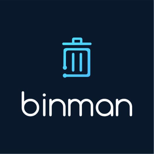 Логотип компании «Binman»