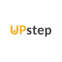 Логотип компании «UPstep»