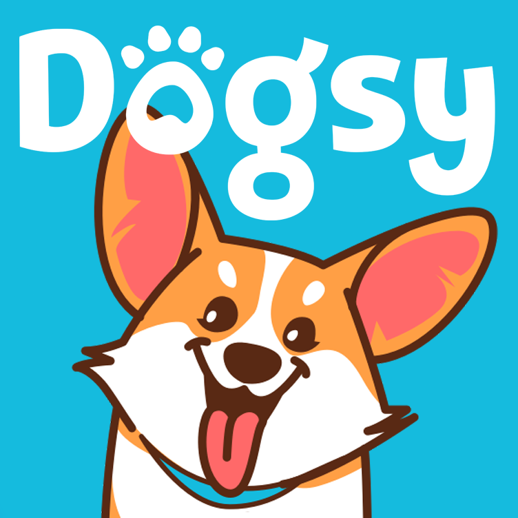 Логотип компании «Догси.ру»