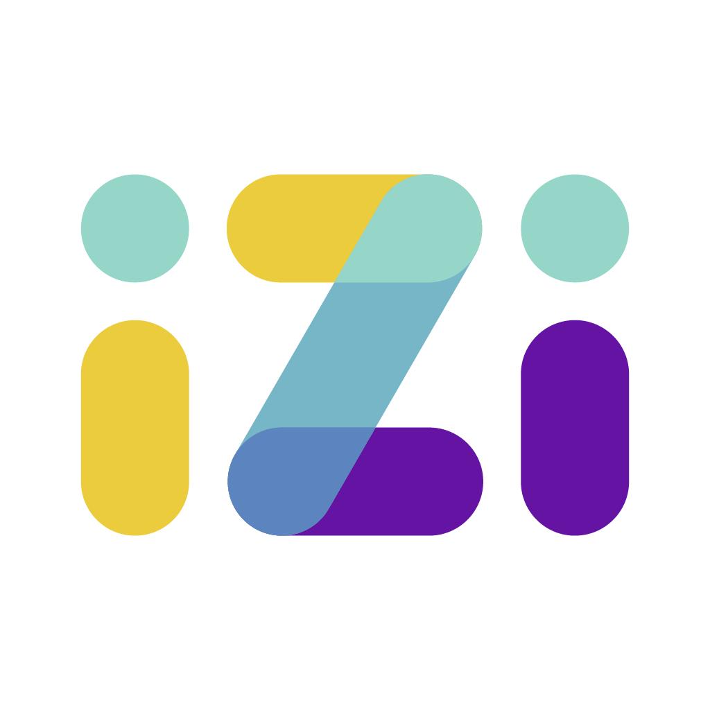 Логотип компании «IZIBOOK»
