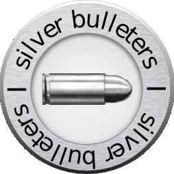 Логотип компании «Серебряная Пуля»