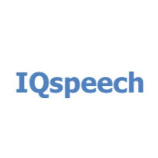 Логотип компании «IQspeech»