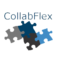 Логотип компании «CollabFlex»