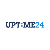 Логотип компании «Uptime 24»