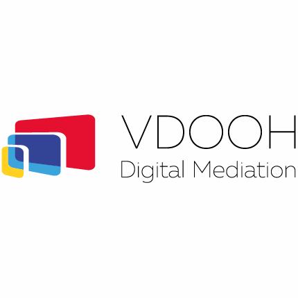 Логотип компании «VDOOH.com»