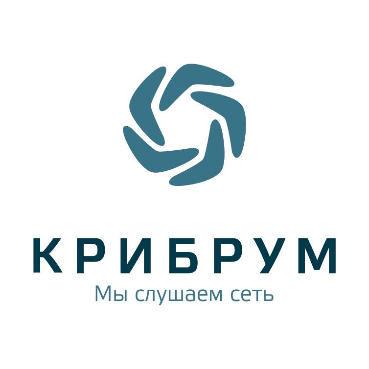 Логотип компании «Крибрум»