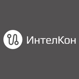 Логотип компании «ИнтелКон»