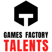 Логотип компании «Games Factory Talents»