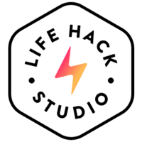 Логотип компании «Lifehack Studio»