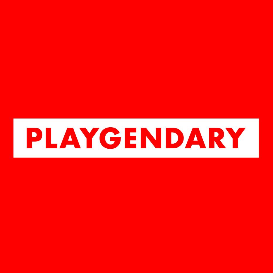 Логотип компании «Playgendary»
