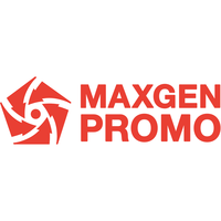 Логотип компании «MAXGEN PROMO»
