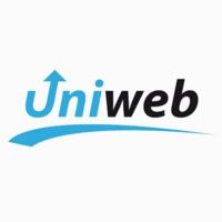 Логотип компании «ЮниВеб»