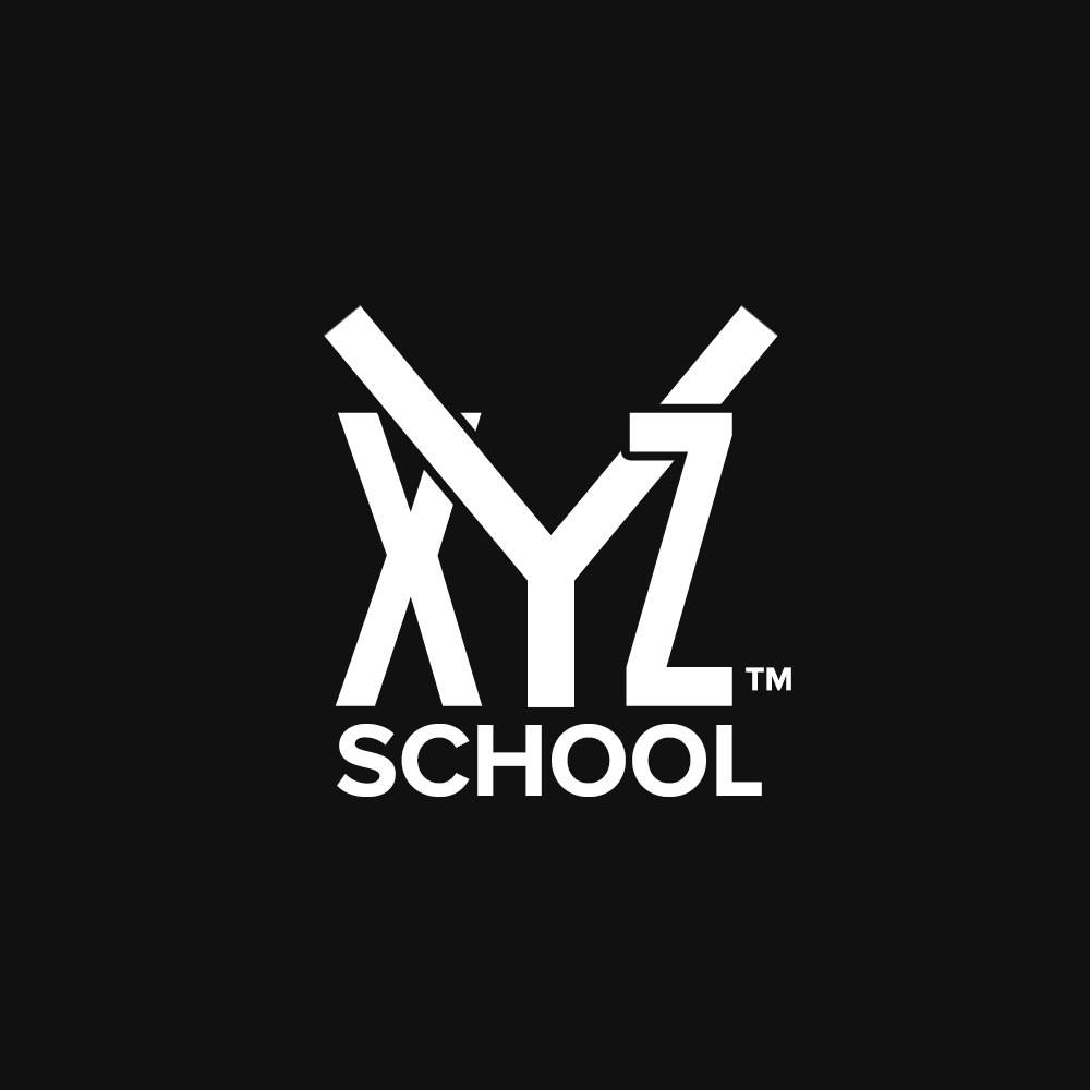 Логотип компании «XYZ School»