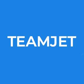 Логотип компании «TeamJet»