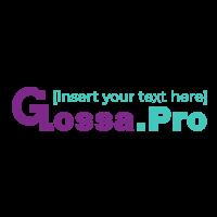 Логотип компании «Glossa.PRO»