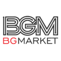Логотип компании «BG Market»