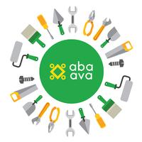 Логотип компании «Aba ava»