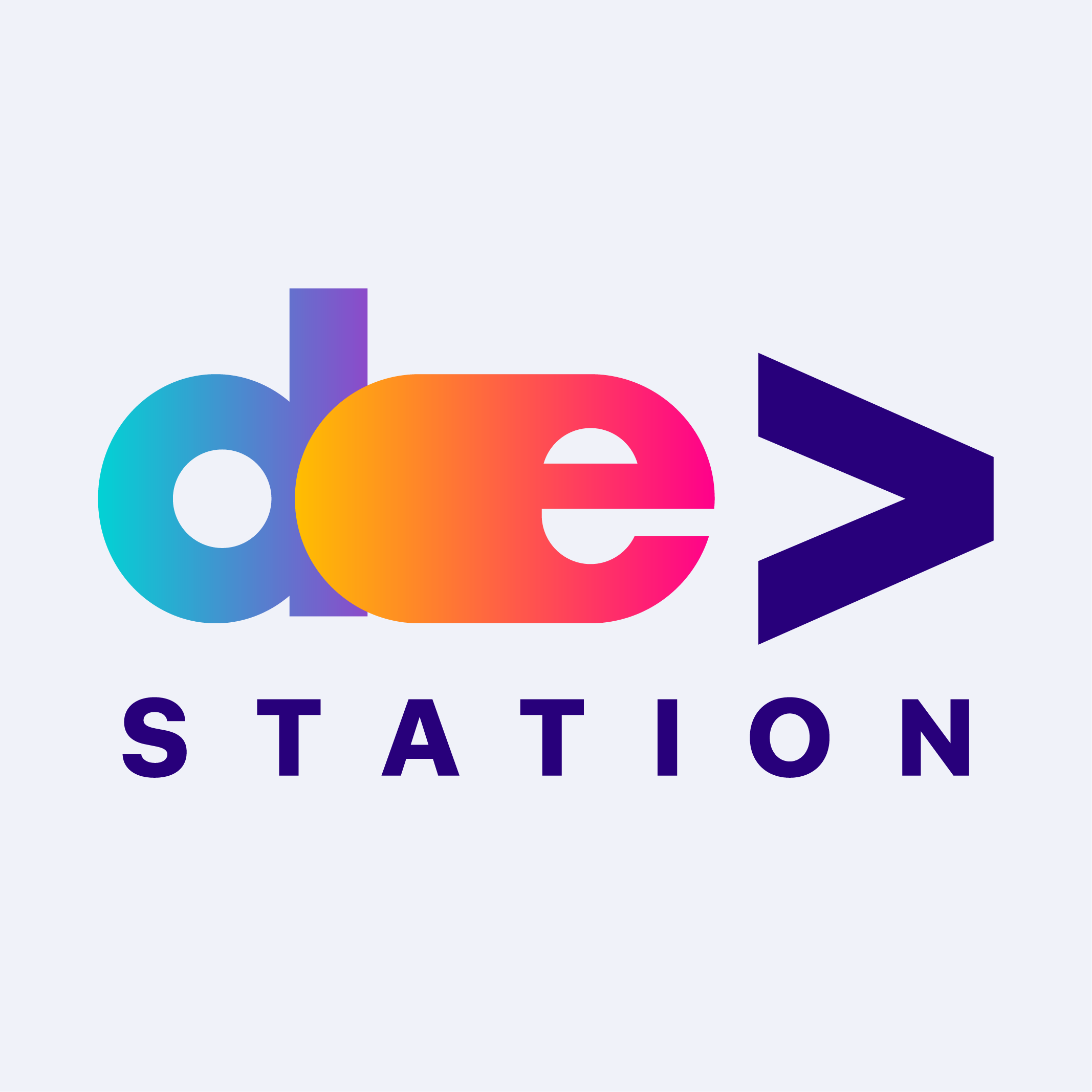 Логотип компании «DevStation»