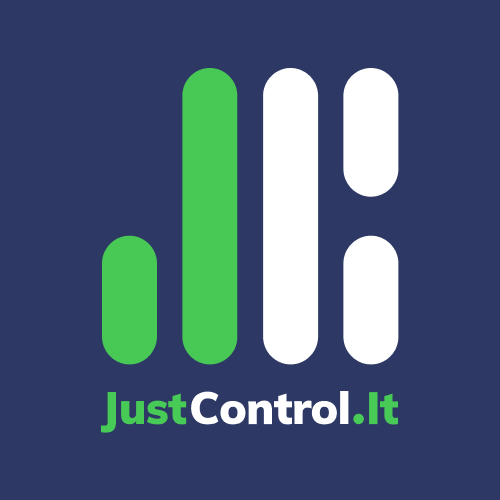Логотип компании «JustControl.it»