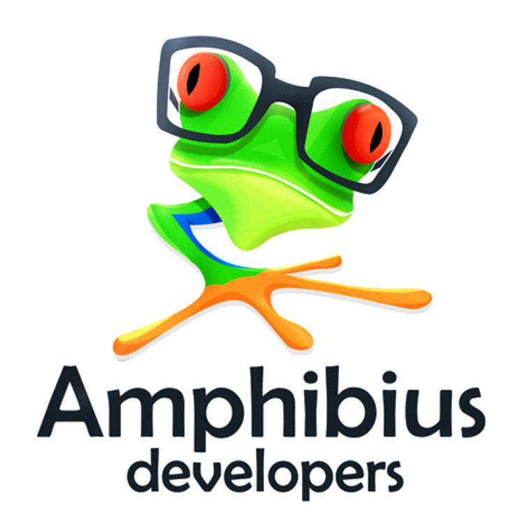 Логотип компании «Amphibius Development»