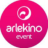 Логотип компании «Arlekino Event»